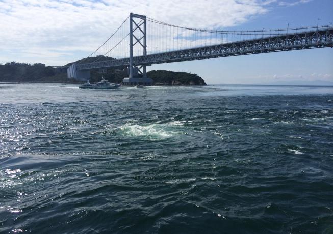 鳴門海峡のうず潮