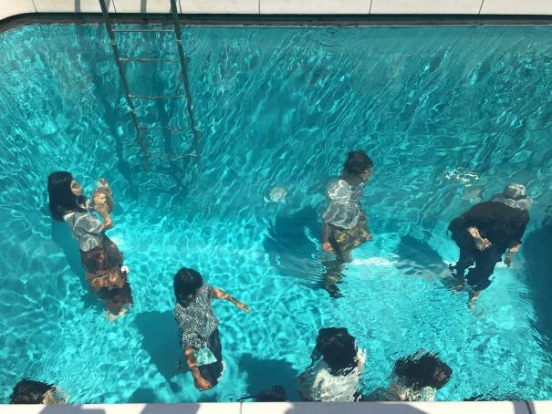 金沢21世紀美術館のプール