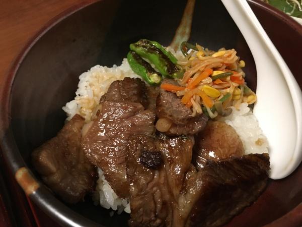 近江牛焼肉丼