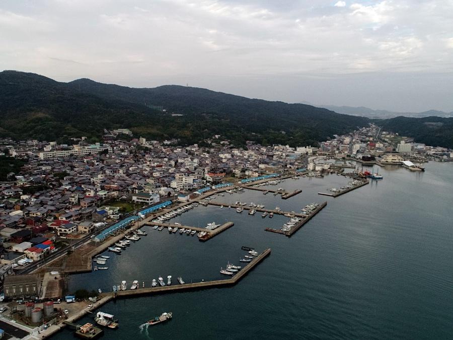 淡路島福良港
