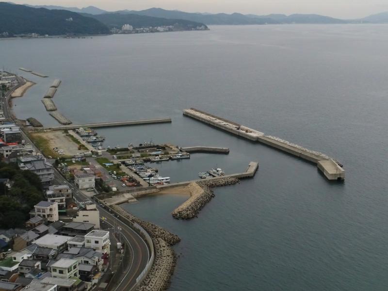 淡路島由良漁港