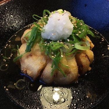 いづも庵玉ねぎつけ麺