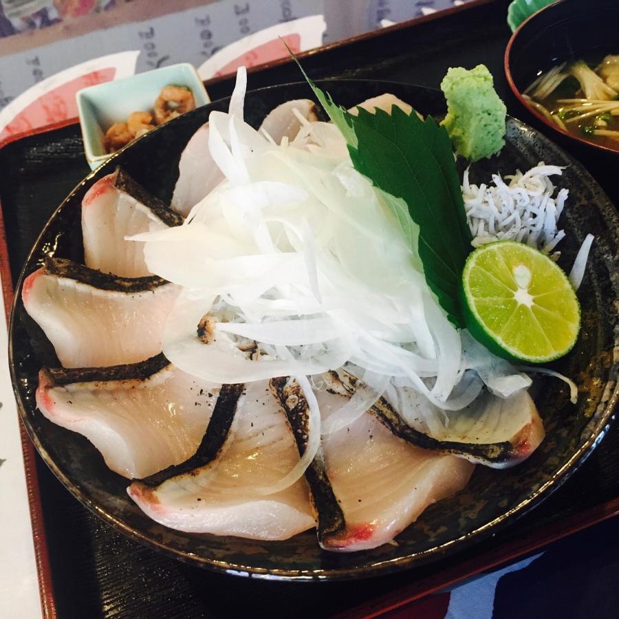 淡路島のサワラ丼