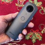 「THETA V」(リコー)は釣りに役立つ360度カメラだ!
