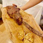 ハレクラニ沖縄のレストラン「KINGDOM」のUSトマホークステーキが最高でした!