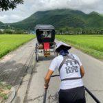【オススメ】乗り心地抜群の人力車はもっと普及して欲しい観光資源です!