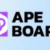 Ape BoardはAlpacaやEllipsisも見ることができるウォレット管理サイト
